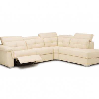 Tikki Leather Reclining Sectional