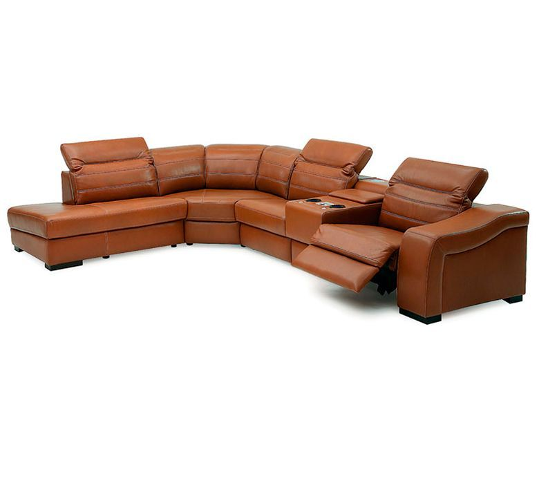 Sofa Chaise Recliner Palliser Infineon Leather Reclining Sectional