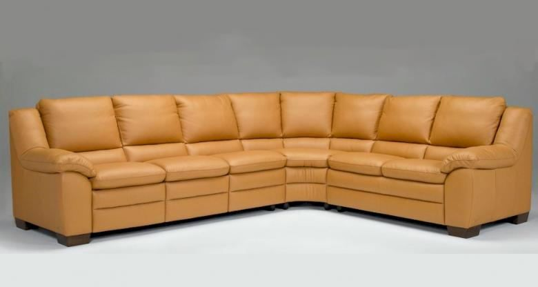 Natuzzi Editions A450 Leather Sectional Collier 39 S