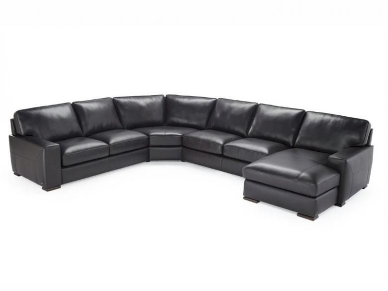 Home Shop Leather Furniture Natuzzi Editions B694 Leather Sofa